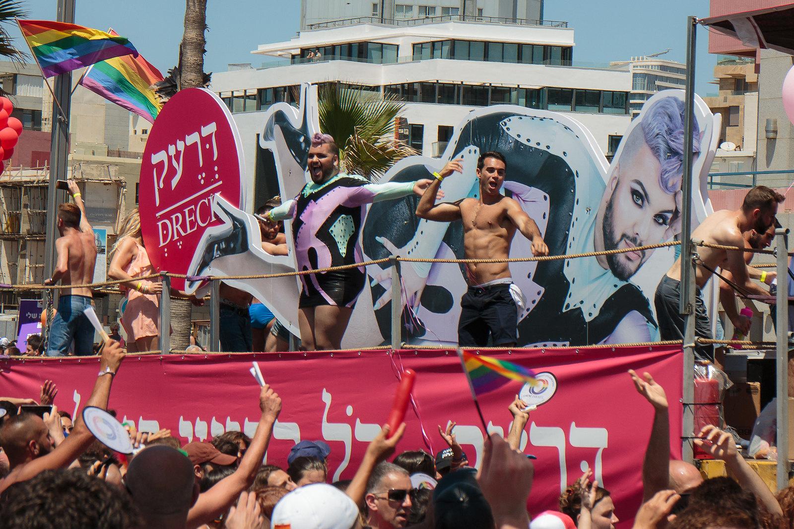 משאיות במצעד הגאוה