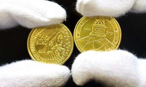 Waterloo 2.5 Euro coin