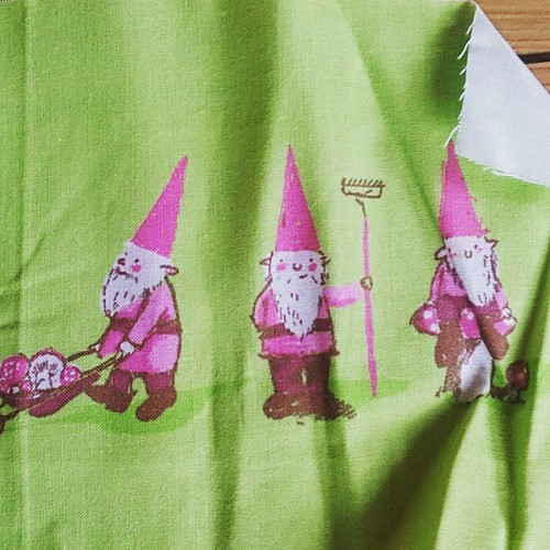I'm looking for some more Heather Ross gnomes in any colourway, but I've heard that the spoonflower prints aren't all that lasting. Thoughts? Opinions? Do you have any gnomes? How have you found the spoonflower fabric?