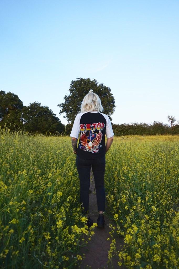 rape seed field,zztop,tattoos,sleeve