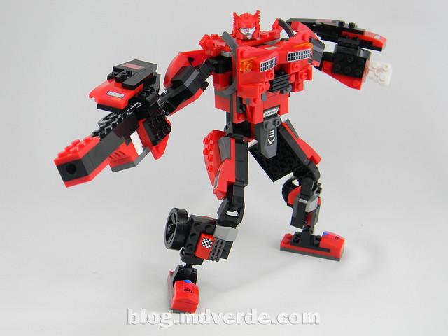 Transformers Sideswipe Kre-O - modo robot