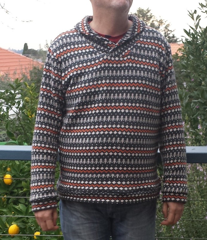 Thread Theory Finlayson sweater in knit from Darn Cheap Fabrics