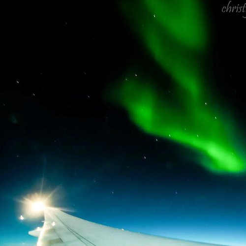Another from the in-flight movie on my way to Paris. Aurora at 30,000 feet #alberta #arcticcircle #allnatureshots #auroraborealis #beautiful #canada #cangeo #canadarocks #christyturnerphotography #huffpostgram #ig_longexp #ig_longexp #ig_natureshots #long