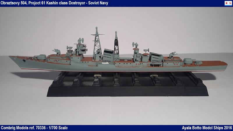 Destroyer Obraztsovy Projet 61 Classe Kashin Combrig 1/700 Marine Soviétique 31649416425_d2a0c47f6e_o