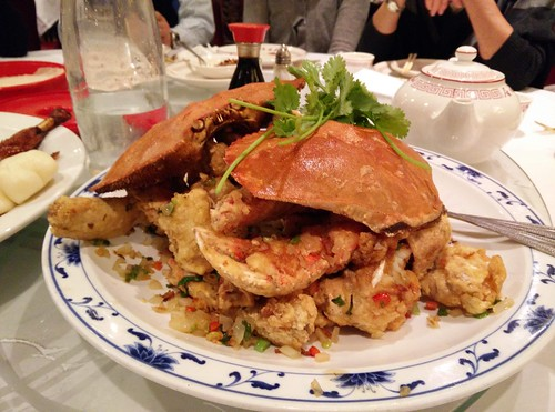 Salt and Pepper Live Dungeness Crab