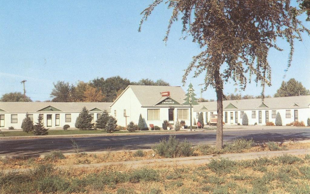 Evergreen Motel - Gooding, Idaho