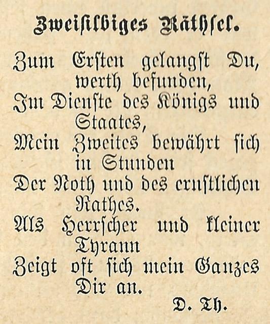 Neckarsteinach, Neckarufer ... Charade / Scharade von Nikolaus Lenau ... Silbenrätsel ... Fotos: Brigitte Stolle, Mannheim - Texte: Die Gartenlaube, 1884