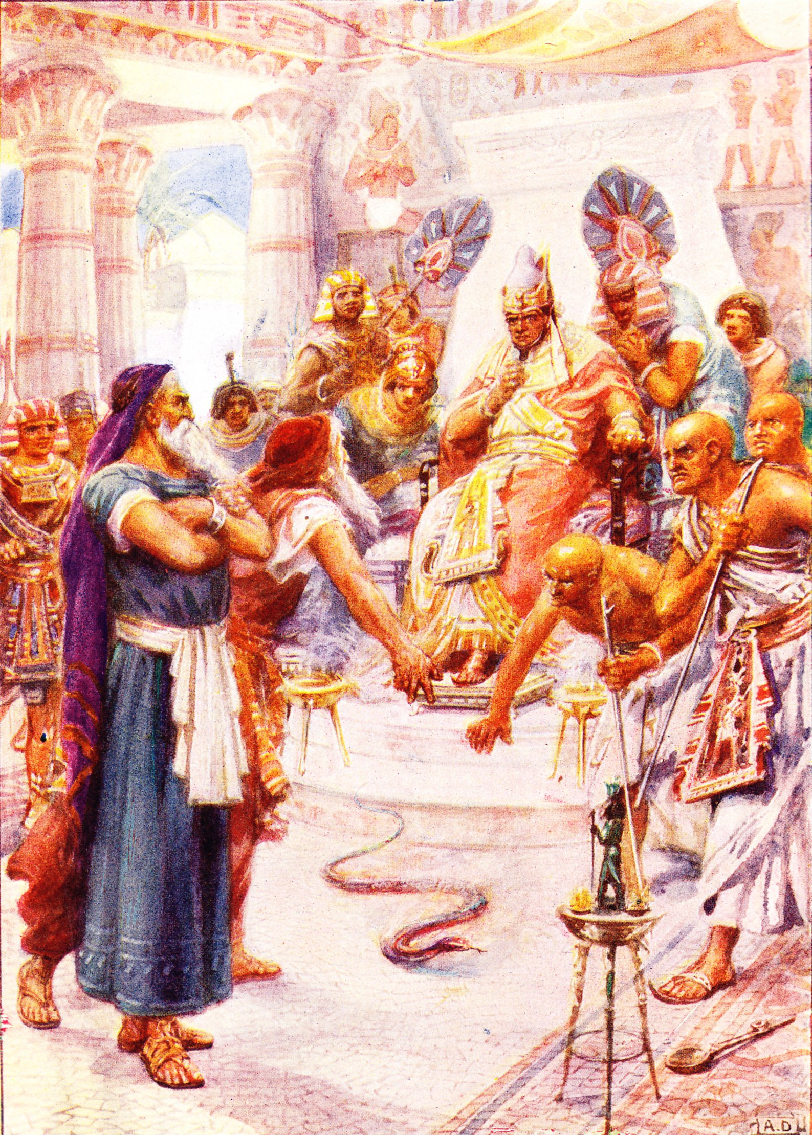 Moses story with pictures Exodus (23) - Free Bible images: Find a story