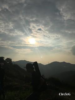 CIRCLEG 遊記 香港 屯門 菠蘿山 良景邨 日落  (37)