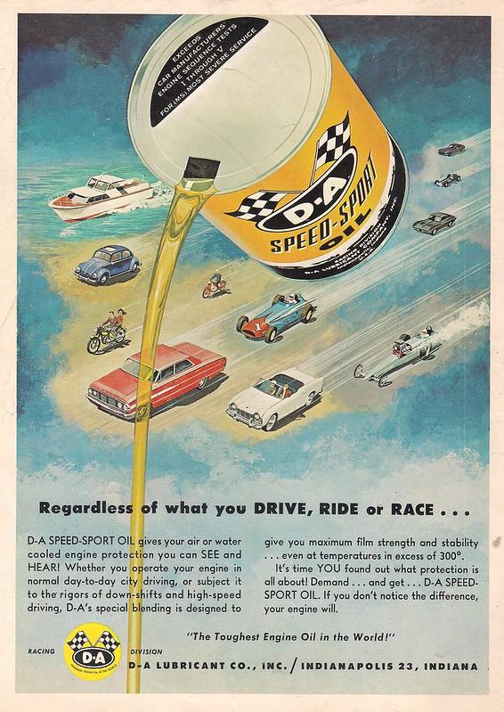 D-A Speed Sport Oil