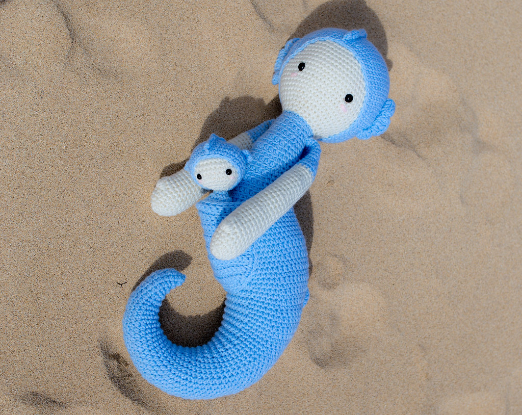 Sepp The Seahorse Made By Somethingbyvera Pattern Flickr