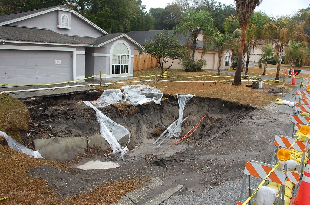 Sinkholes Sinkholes Affect Structures As Well As Many