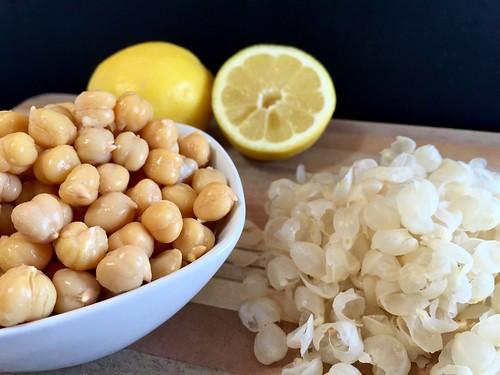 peeled garbanzo beans