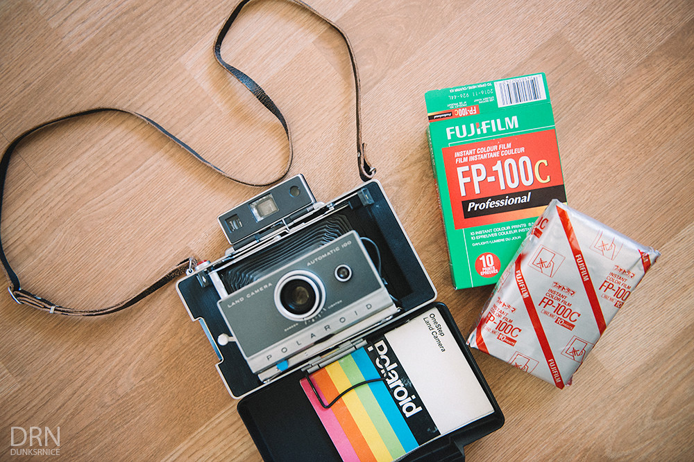 Polaroid Land Camera & Film.