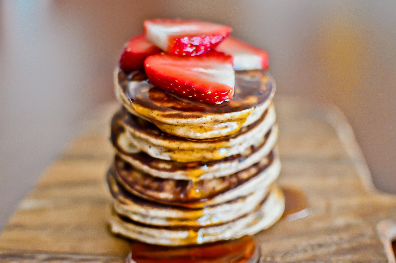 Almond Coconut Flour Pancakes