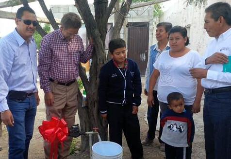 Gobierno  dota de agua potable a más de 52 mil familias