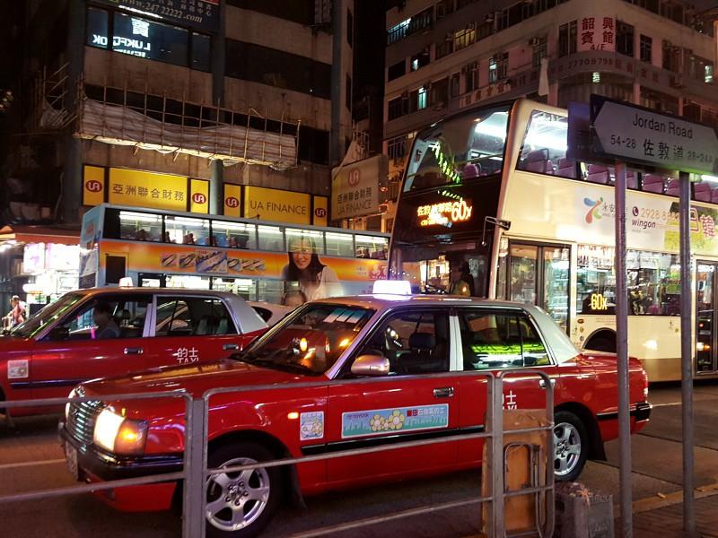 Hong Kong taxis