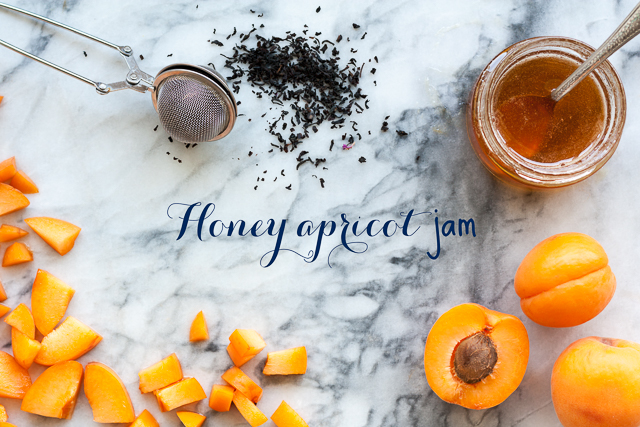 Honey apricot jam with tea | Janice Lawandi @ kitchen heals soul