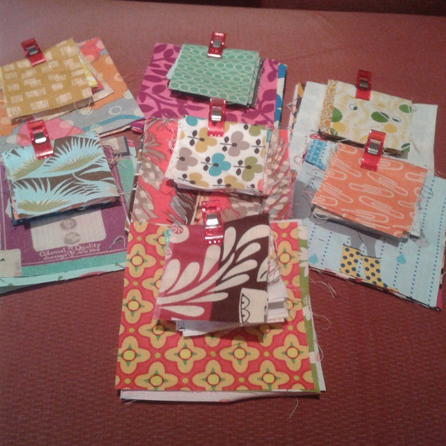 More blocks ready for sewing
