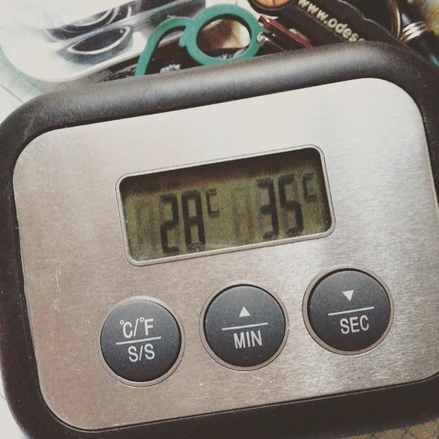 Solo un termometro da cucina poteva trasmettere la giusta … | Flickr
