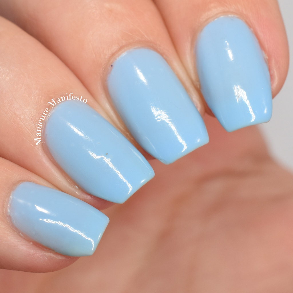 China Glaze Don't Be Shallow swatch