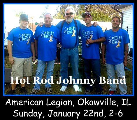 Hot Rod Johnny 1-22-17