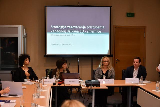Promocija i prezentacija Smjernica za strategiju zagovaranja ulaska zemalja Zapadnog Balkana u Evropsku uniju