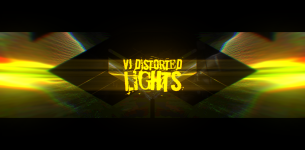 VJ Distorted Lights (4K Set 11)