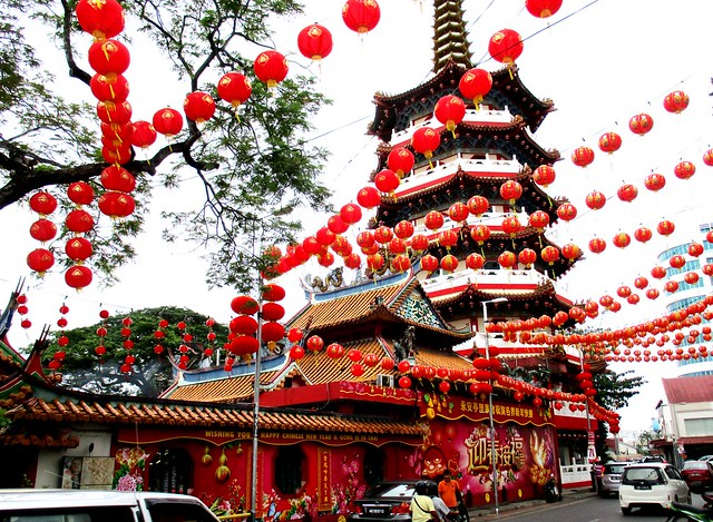 Chinese New Year 2017 tua pek kong temple Sibu
