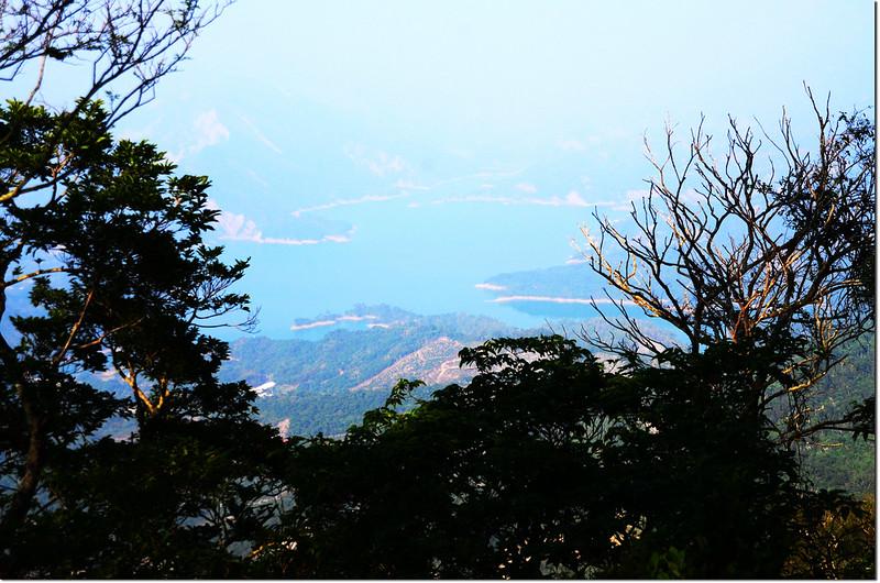 烏山步道俯瞰南化水庫 1