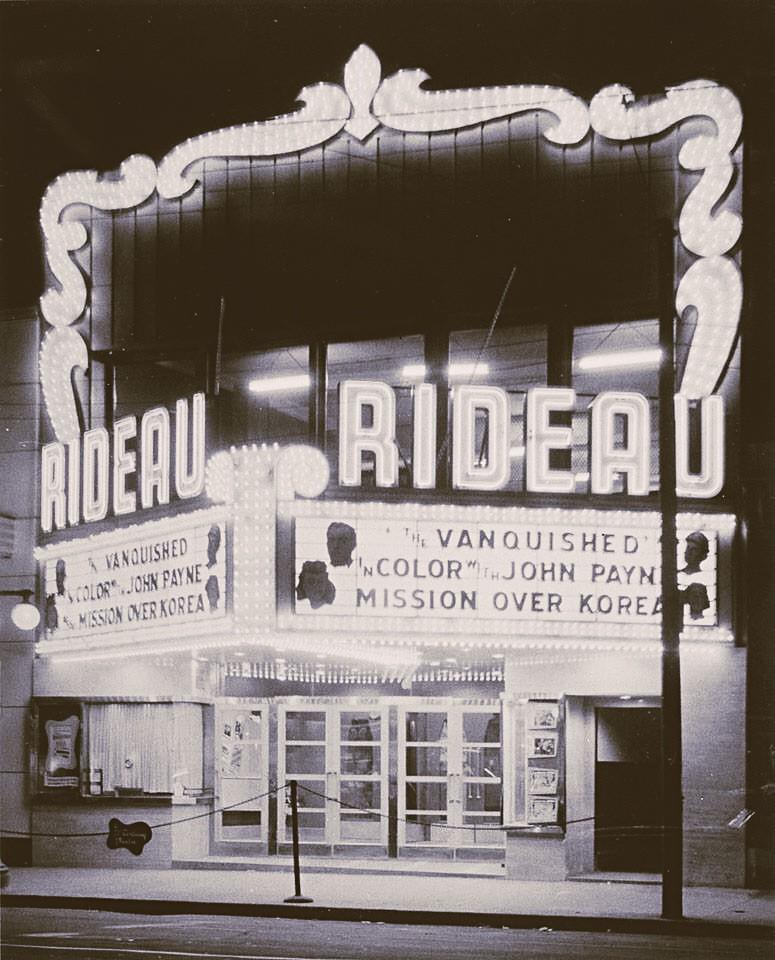Rideau Theatre 1974 | Ottawa ON | Ross Dunn: Thanks -10million views ...