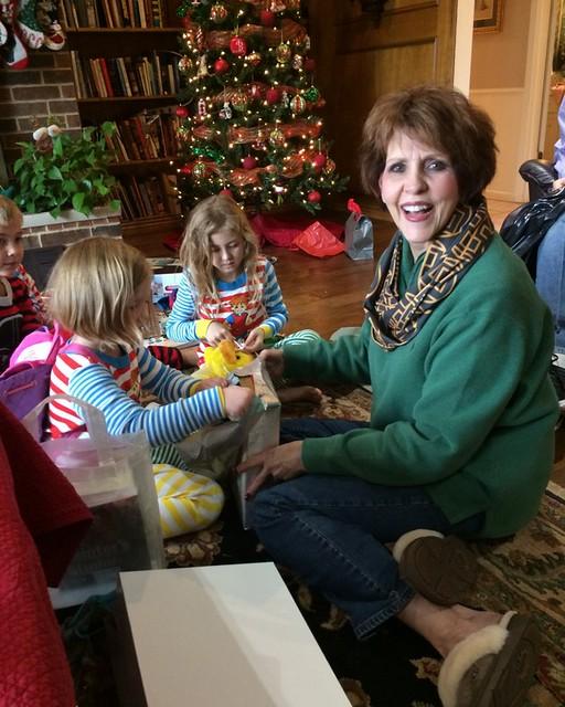 School Christmas Party's and Kiki's 201456
