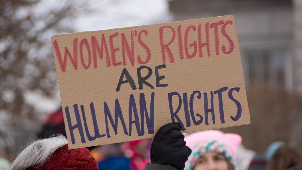 Women's Rights Sign