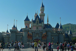 Disneyland Hongkong - Sleeping Beauty castle