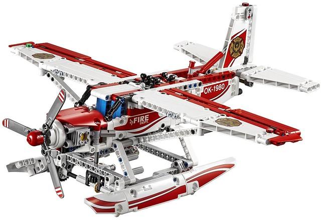 LEGO Technic 2015: 42040 - Fire Plane