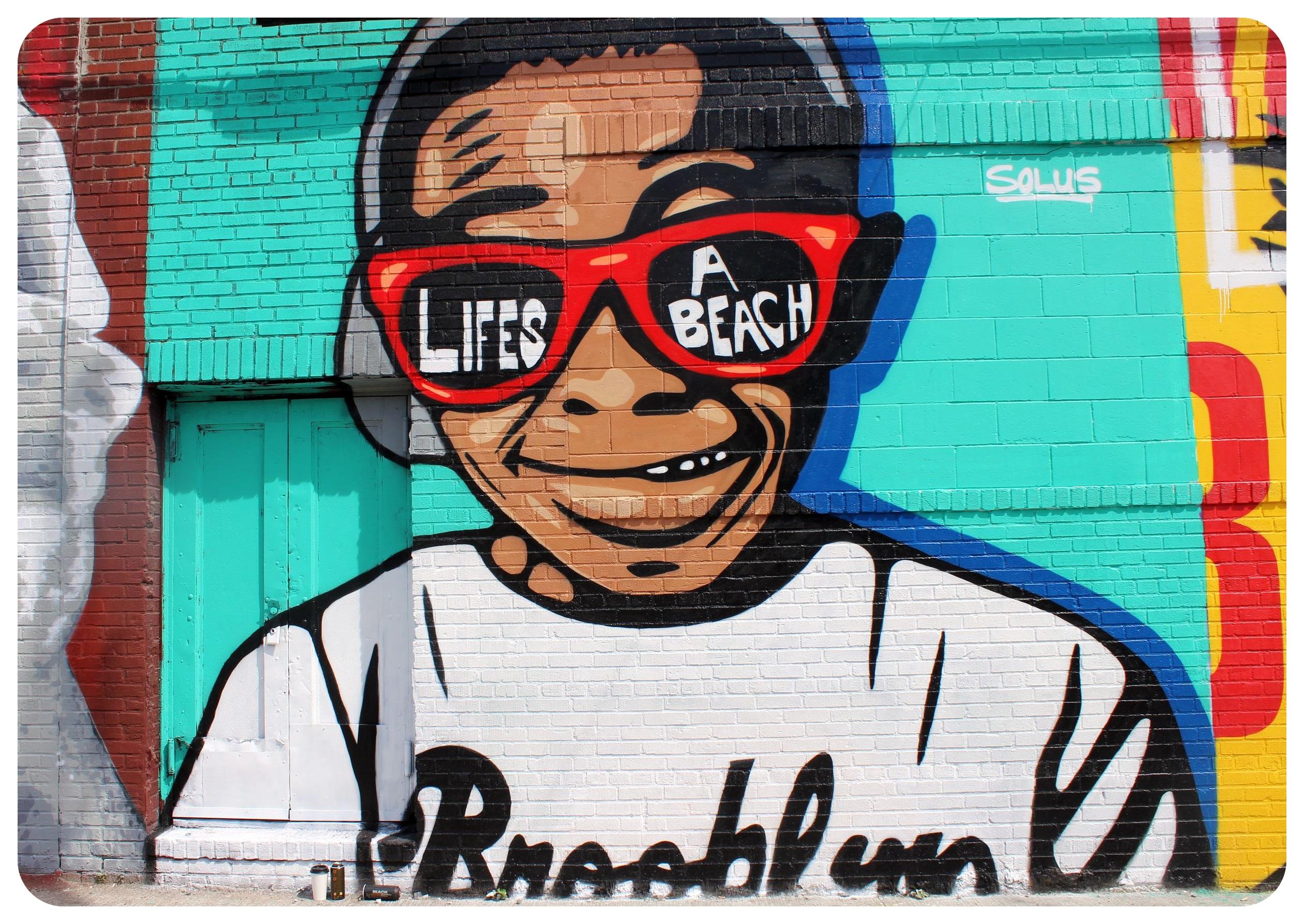 brooklyn bushwick lifes a beach