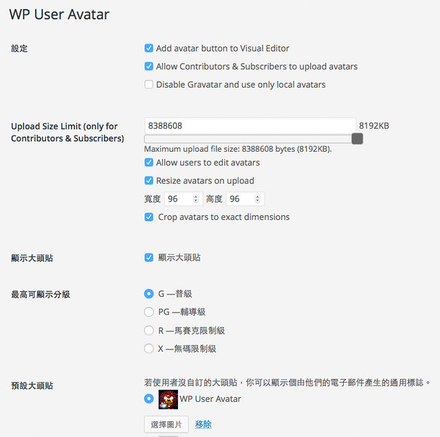 wp-user-avatar