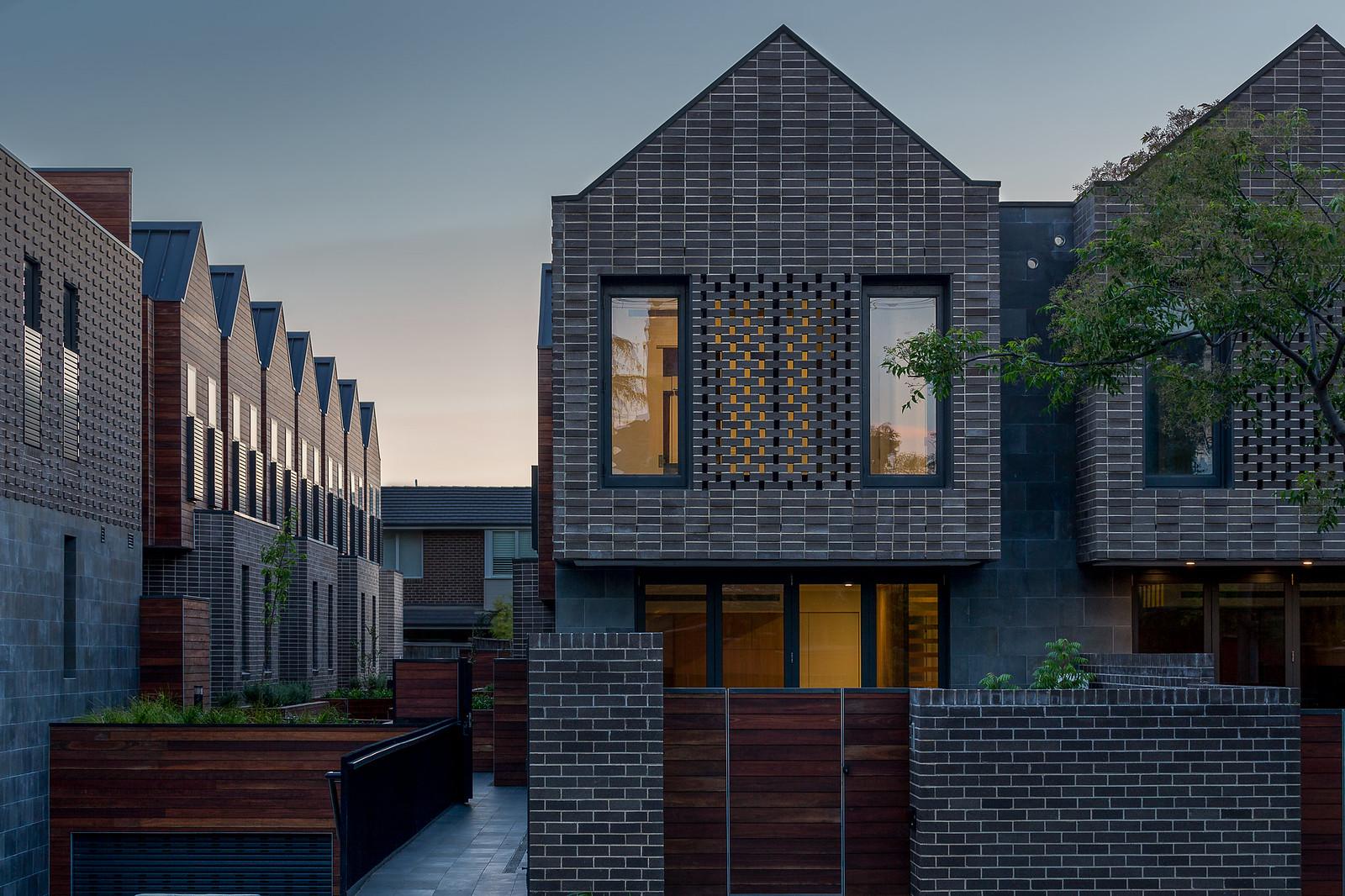 Hawthorn Terrace Houses