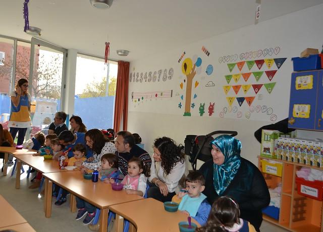 Primer taller de alimentación Novaschool Granada 2 años