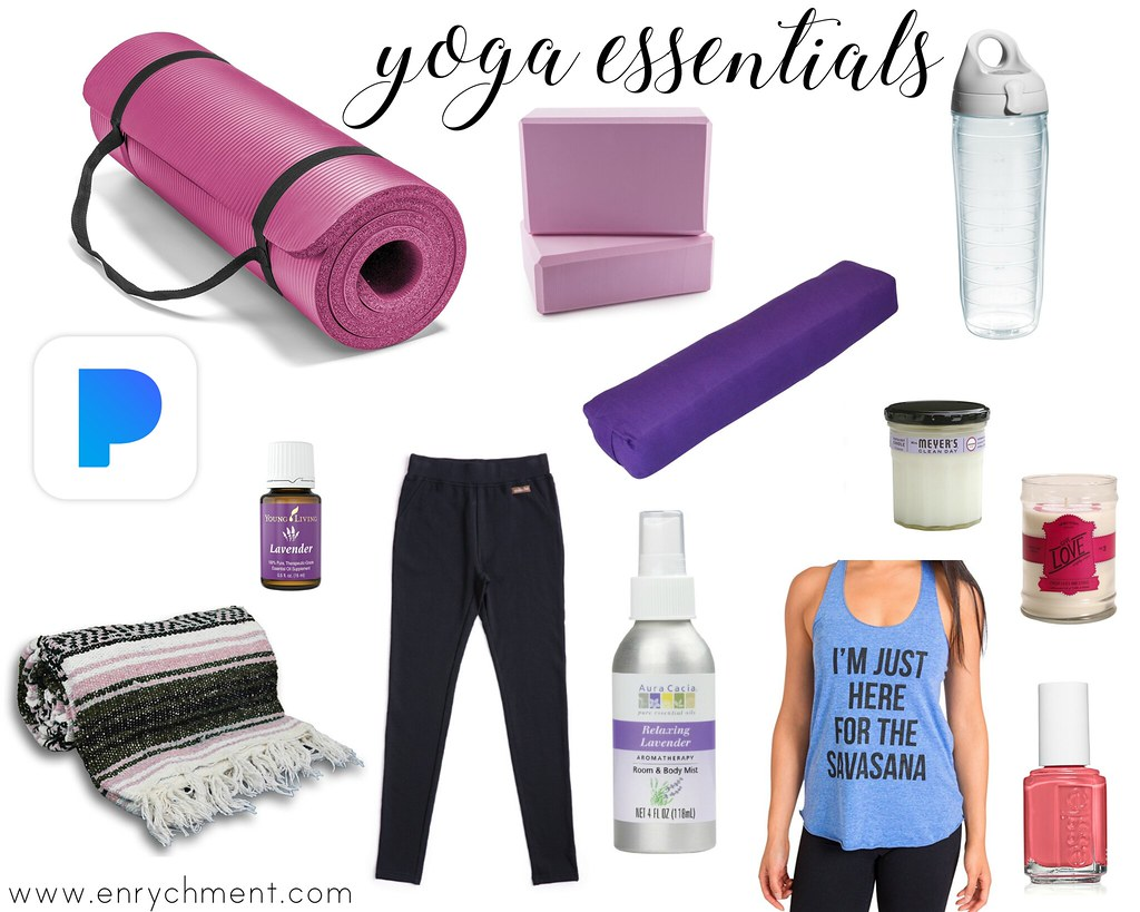 My 12+ Yoga Essentials to get you started with your own practice