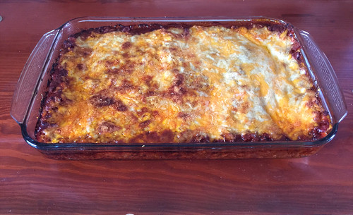 157 - Lasagne fertig gebacken / finished baking