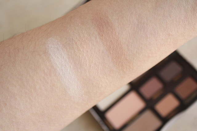 Too Faced Natural Matte Eye Palette swatches