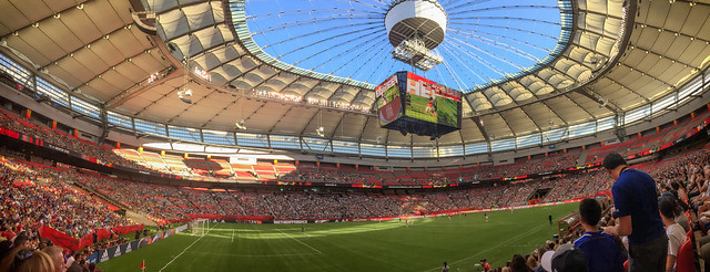 FIFA Women's World Cup 2015, BC Place Stadium, Vancouver, 8 June 2015