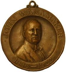 Wanamaker medal obverse