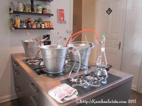 ©Gin Workshop in der Küche Ahoi -Glasdestille