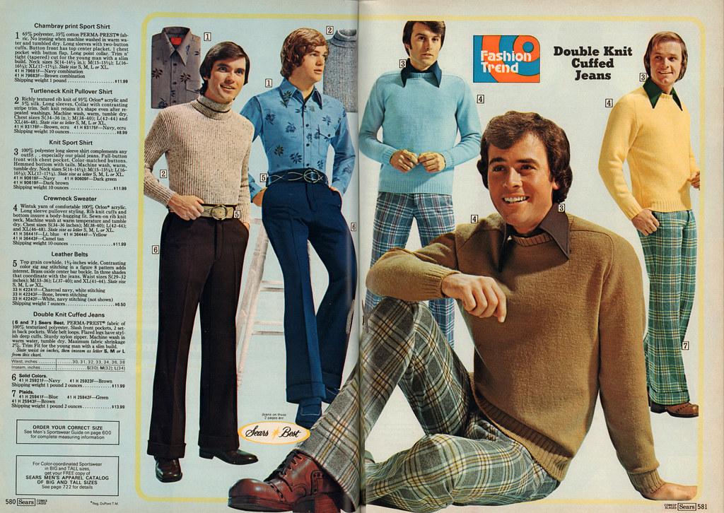 Men S Fashion Sears Fall Winter 1974 Www Scanagogo Com