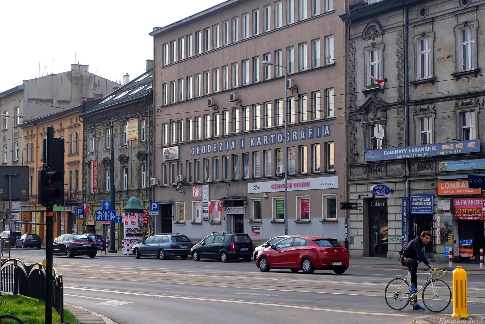 Geodezja i kartografia, Krakow, Poland