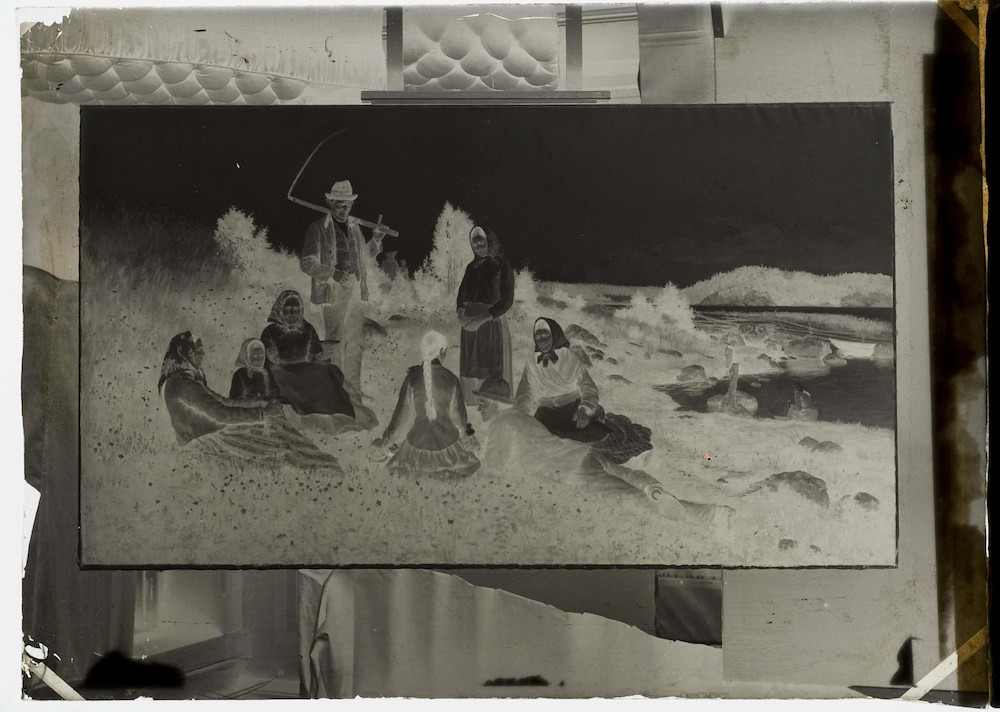 Daniel Nyblin's Glass Negatives of Artworks | The Public Domain Review