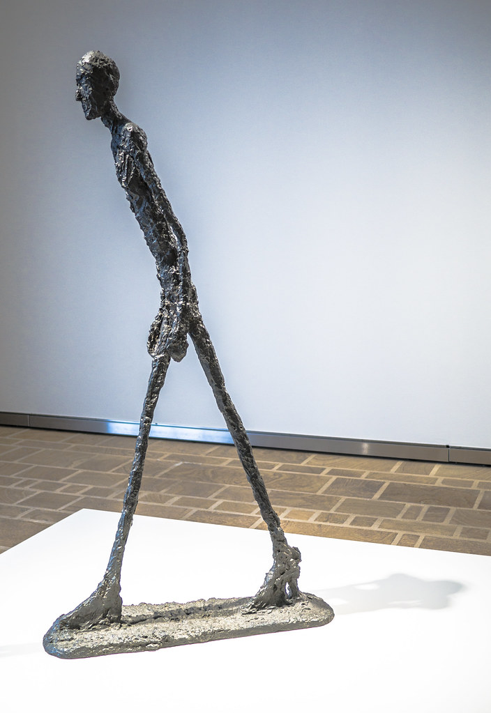 ... Alberto Giacometti - 1960 - Bronze | Flickr - Photo Sharing: https://www.flickr.com/photos/la_bretagne_a_paris/19531809374