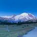 Sunrise visitor center. Mt. Rainier